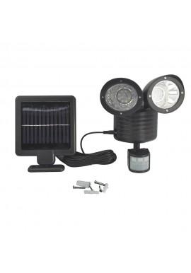 22 Led Solar Power Rechargeable Pir Motion Sensor Security Light Outdoor Garden