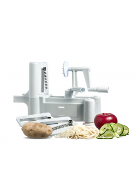 Tri-Blade Spiral Vegetable Slicer